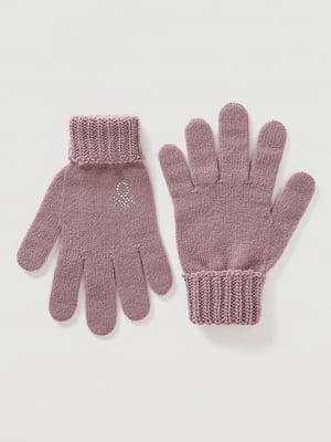 Перчатки сиреневого цвета | 5520441