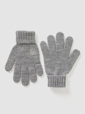 Перчатки серые | 5520443