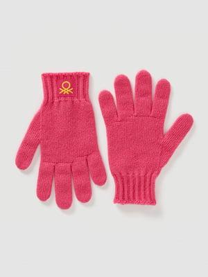 Перчатки розовые | 5520466