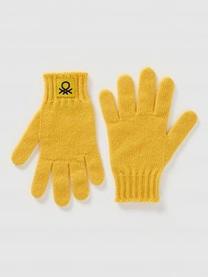 Перчатки желтые | 5520468