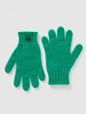 Перчатки зеленые | 5520469