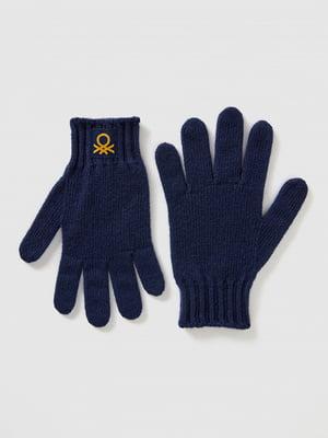 Перчатки темно-синие | 5520470