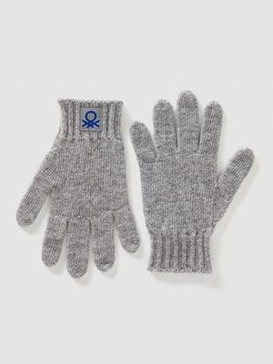 Перчатки серые | 5520471