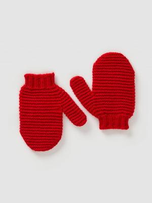 Варежки красные | 5520482