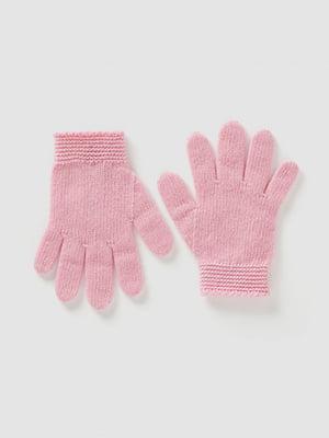 Перчатки розовые | 5520489