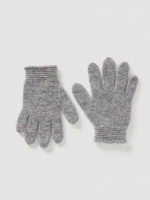 Перчатки серые | 5520492