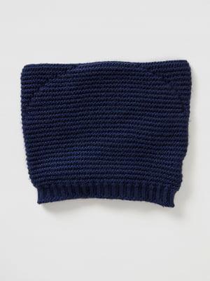 Шапка синяя | 5520500