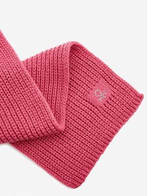 Шарф розовый | 5520511