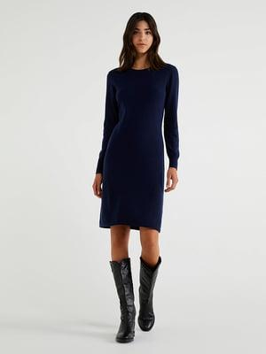 Платье темно-синее | 5520776