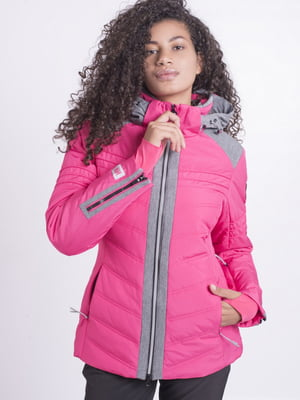 Куртка малинового цвета | 5531550
