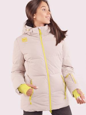 Куртка бежевая | 5531552