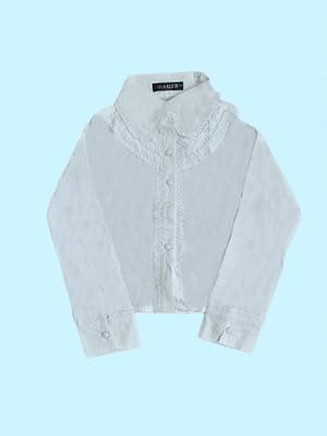 Блуза белая   5531554
