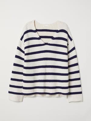 Пуловер в смужку | 5519443