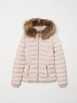 Куртка цвета пудры | 5531127