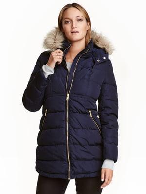 Куртка для беременных синяя | 5531220