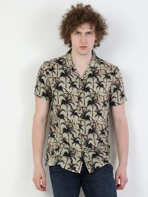 Рубашка в принт | 5533501