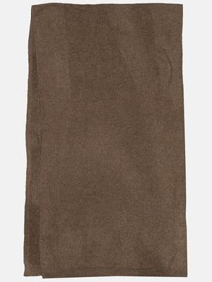 Шарф коричневий | 5428636