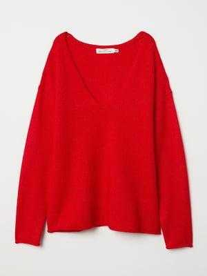 Пуловер красный | 5519333