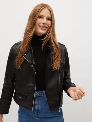 Куртка чорна | 5526137