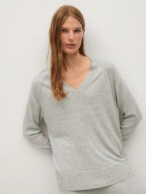 Пуловер сірий | 5529530