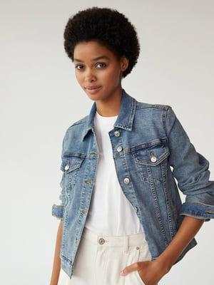 Жакет синий джинсовый | 5529668