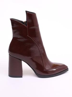 Ботинки бордовые | 5533547