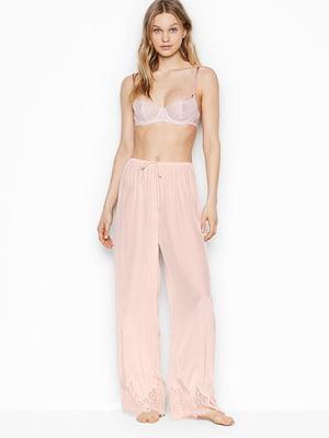 Штани піжамні рожеві   5534925