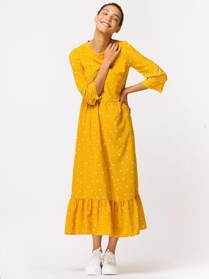 Сукня жовта в горошок   5535006