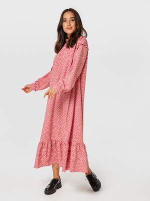 Сукня рожева в горошок   5535063