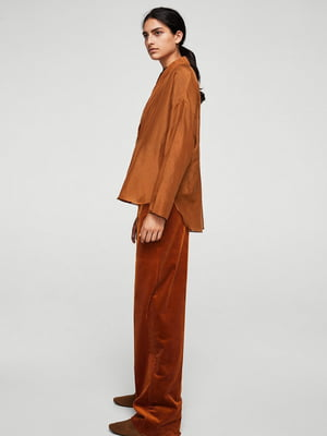 Рубашка коричневая | 5535126