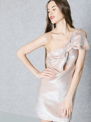 Платье бежевое | 5535141