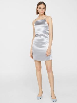 Сукня сріблястого кольору | 5535178