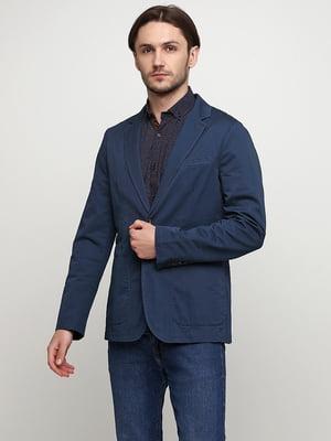 Пиджак серо-синий | 5535181