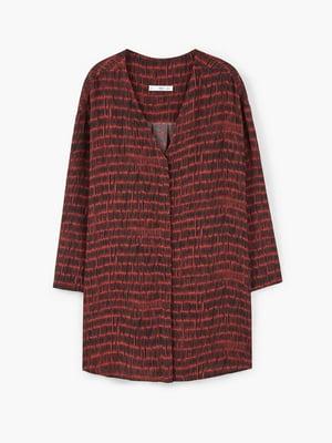 Платье коричневое с узором | 5535253