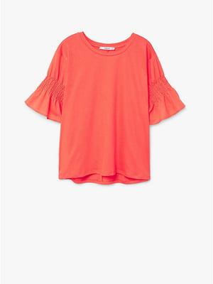 Блуза коралового кольору | 5535281
