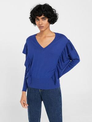 Пуловер синій | 5535327