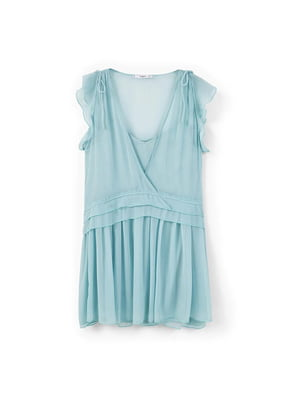 Платье бирюзовое | 5535392