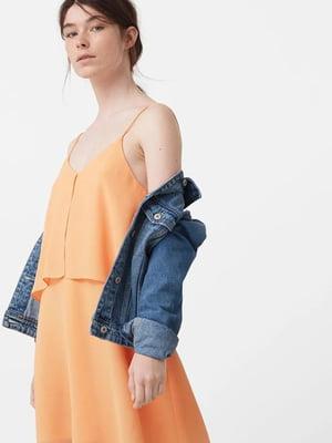 Платье оранжевое | 5535417