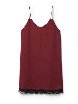 Платье бордовое | 5535445