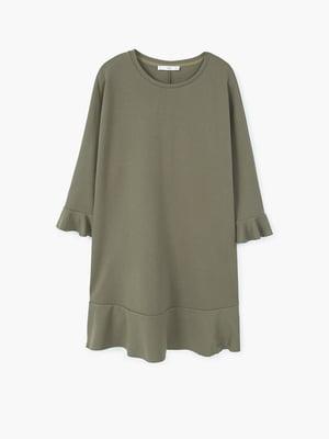 Платье цвета хаки | 5535446