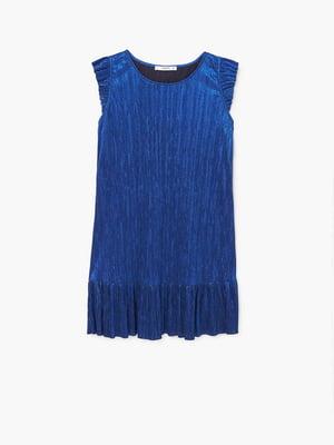 Платье синее | 5535463
