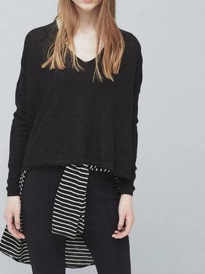 Пуловер чорний | 5535516