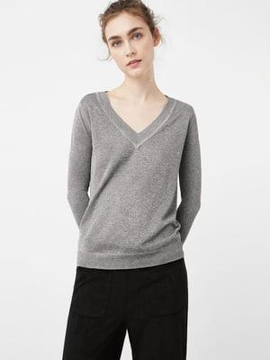 Пуловер сірий | 5535517