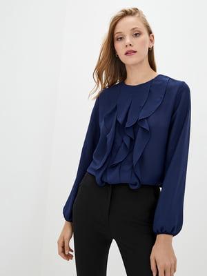 Блуза темно-синяя | 5400926