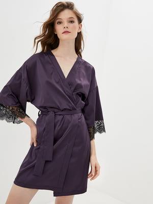 Халат темно-фіолетовий | 5533104