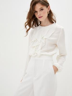 Блуза цвета слоновой кости | 5400928