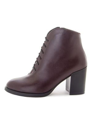 Ботинки бордовые | 5535588