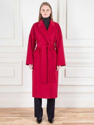Пальто красное | 5528493