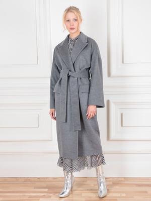 Пальто серое | 5528495