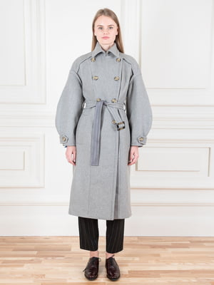 Пальто серое | 5528490